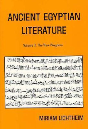 Cover of Ancient Egyptian Literature: The late period