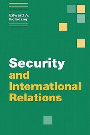 Cover of Security and International Relations
