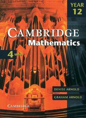 Cover of Cambridge 4 Unit Mathematics Year 12