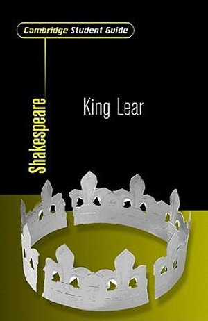 Cover of Cambridge Student Guide to King Lear