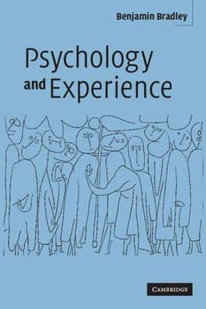 Cover of Psychology and Experience