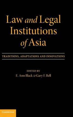 Cover of Law and Legal Institutions of Asia