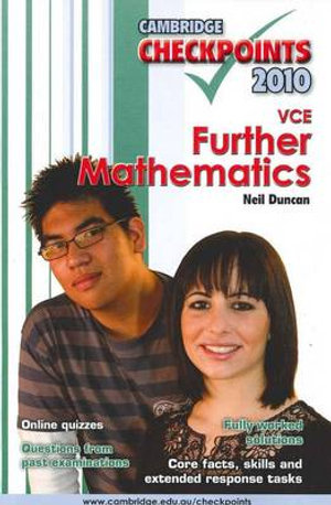 Cover of VCE Further Mathematics
