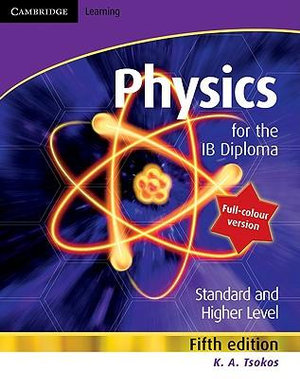 Cover of Physics for the IB Diploma Full Colour