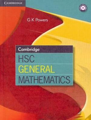 Cover of Cambridge HSC General Mathematics