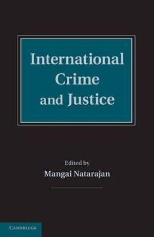 Cover of International Crime and Justice