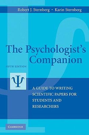 Cover of The Psychologist's Companion