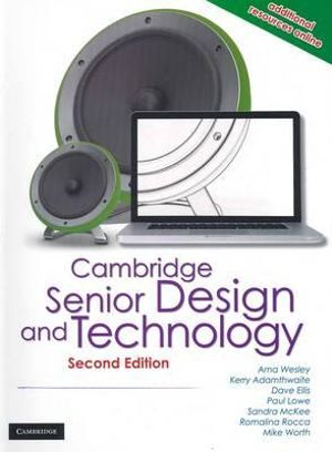 Cover of Cambridge Senior Design and Technology 2nd Edition