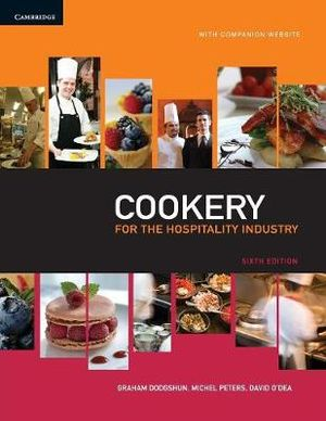 Cover of Cookery for the Hospitality Industry