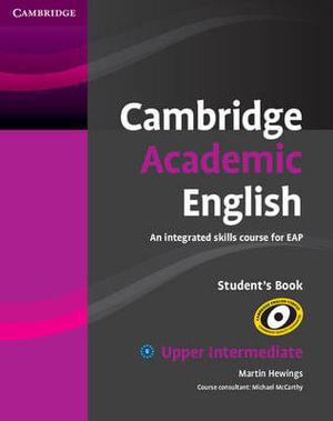 Cover of Cambridge Academic English B2 Upper Intermediate Student's Book