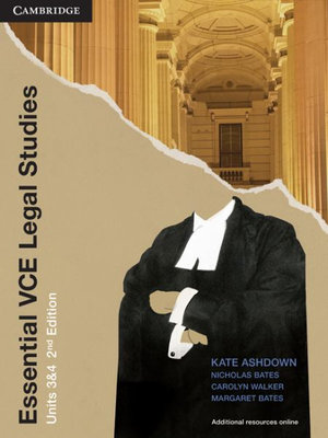 Cover of Essential VCE Legal Studies