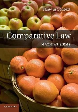 Cover of Comparative Law
