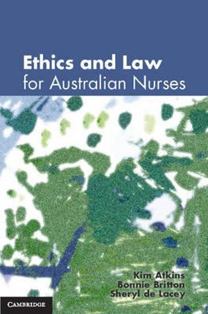 Cover of Ethics and Law for Australian Nurses