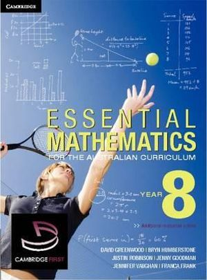 Cover of Essential Mathematics for the Australian Curriculum Year 8