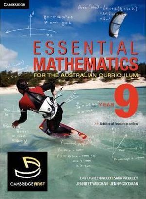 Cover of Essential Mathematics for the Australian Curriculum Year 9