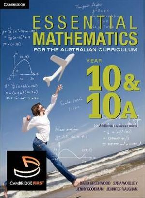Cover of Essential Mathematics for the Australian Curriculum Year 10 and 10A