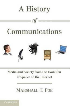 Cover of A History of Communications