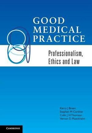 Cover of Good Medical Practice