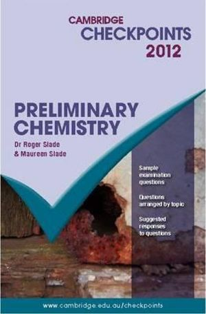 Cover of Cambridge Checkpoints Preliminary Chemistry