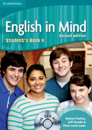 Cover of English in Mind Level 4 Student's Book with DVD-ROM