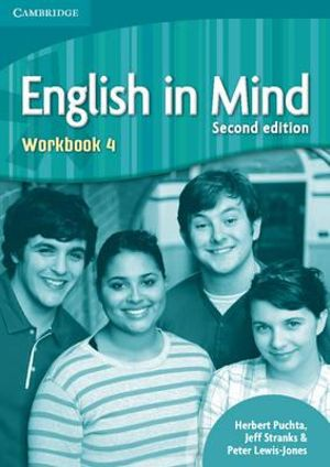 Cover of English in Mind Level 4 Workbook