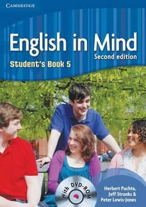 Cover of English in Mind Level 5 Student's Book with DVD-ROM