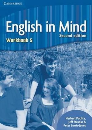 Cover of English in Mind Level 5 Workbook