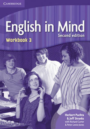 Cover of English in Mind Level 3 Workbook