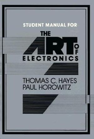 Cover of The Art of Electronics Student Manual