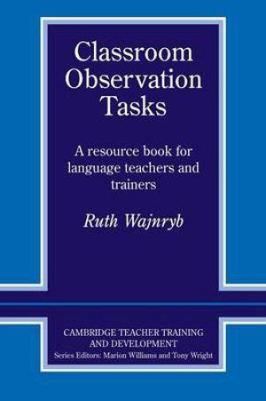 Cover of Classroom Observation Tasks