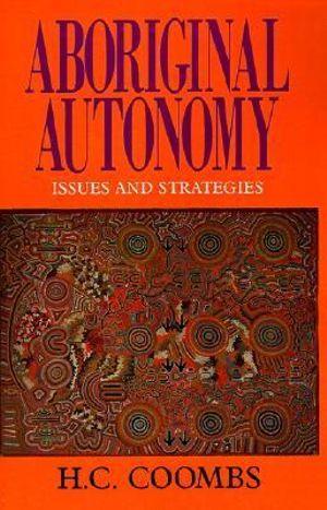 Cover of Aboriginal Autonomy