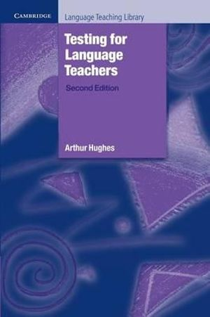 Cover of Testing for Language Teachers