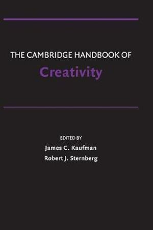 Cover of The Cambridge Handbook of Creativity