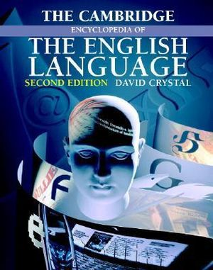 Cover of The Cambridge Encyclopedia of the English Language