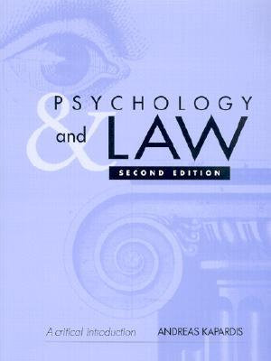 Cover of Psychology and Law