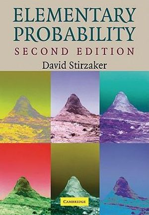 Cover of Elementary Probability