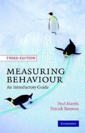 Cover of Measuring Behaviour
