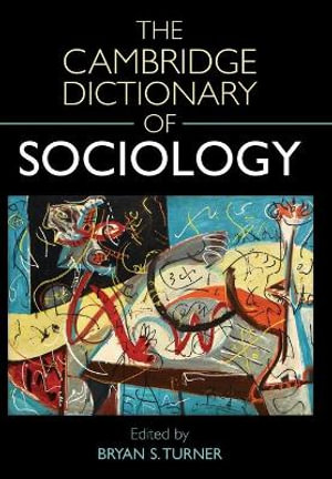 Cover of The Cambridge Dictionary of Sociology