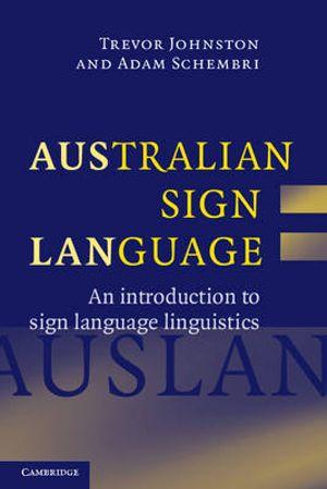 Cover of Australian Sign Language (Auslan)