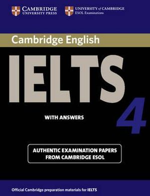Cover of Cambridge IELTS 4 Student's Book with Answers