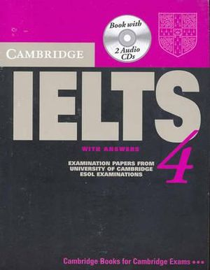 Cover of Cambridge IELTS 4 Self Study Pack