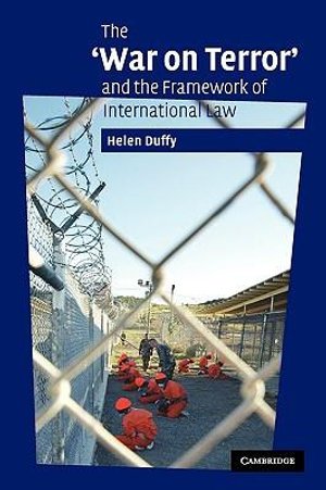 Cover of The 'War on Terror' and the Framework of International Law