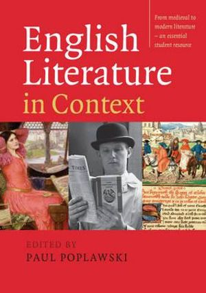 Cover of English Literature in Context