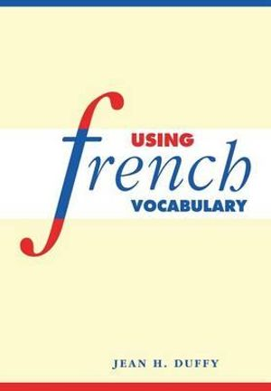 Cover of Using French Vocabulary