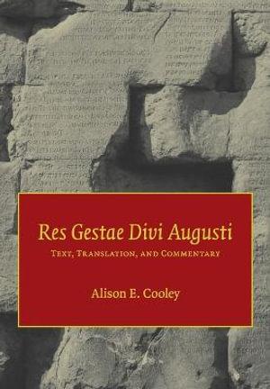 Cover of Res Gestae Divi Augusti