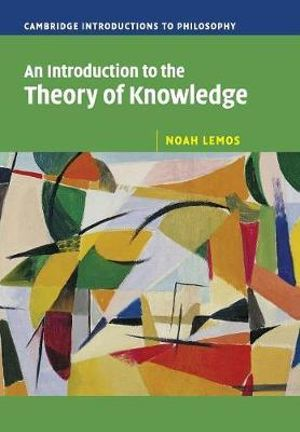Cover of An Introduction to the Theory of Knowledge