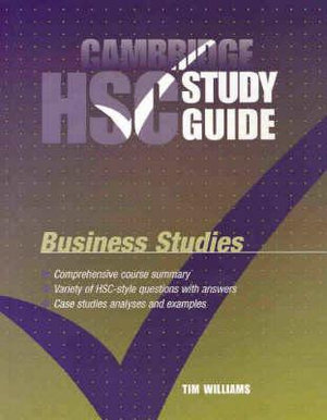 Cover of Cambridge HSC Business Studies Study Guide