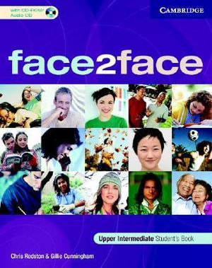 Cover of face2face Upper Intermediate Student's Book with CD-ROM/Audio CD