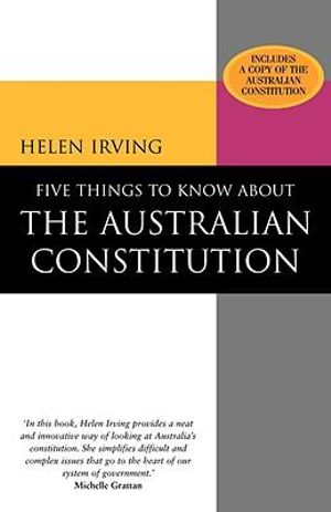 Cover of Five Things to Know About the Australian Constitution