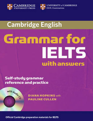 Cover of Cambridge Grammar for IELTS Student's Book with Answers and Audio CD